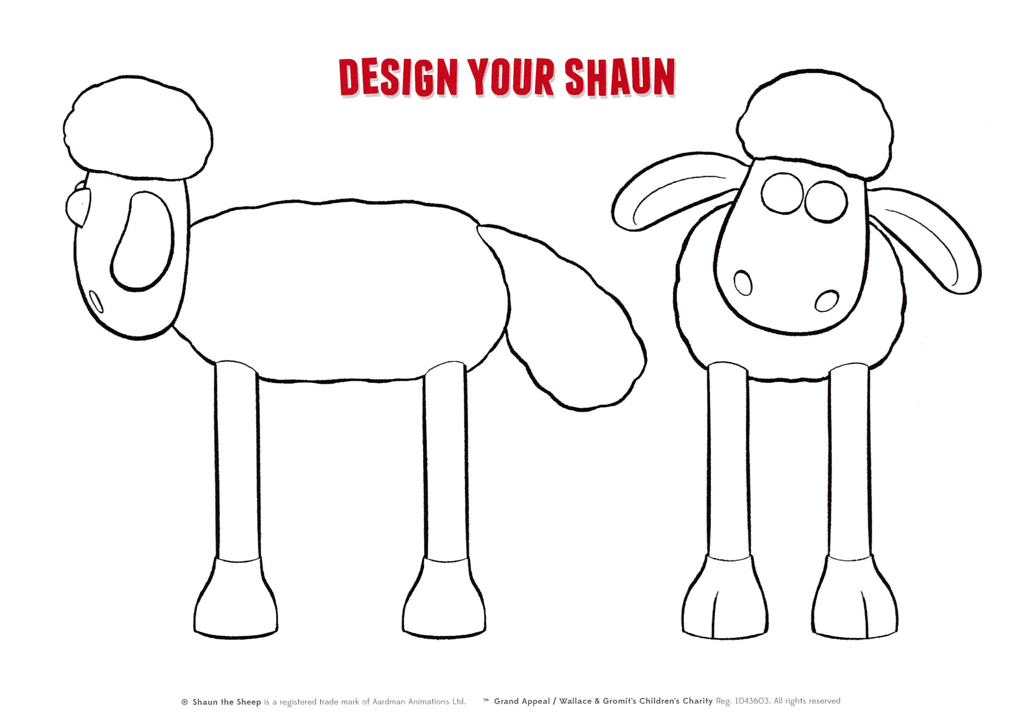 Drawn sheep shaun the sheep Shaun_edited the to Design your