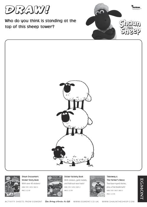 Drawn sheep shaun the sheep Sheep  Shaun Drawing The