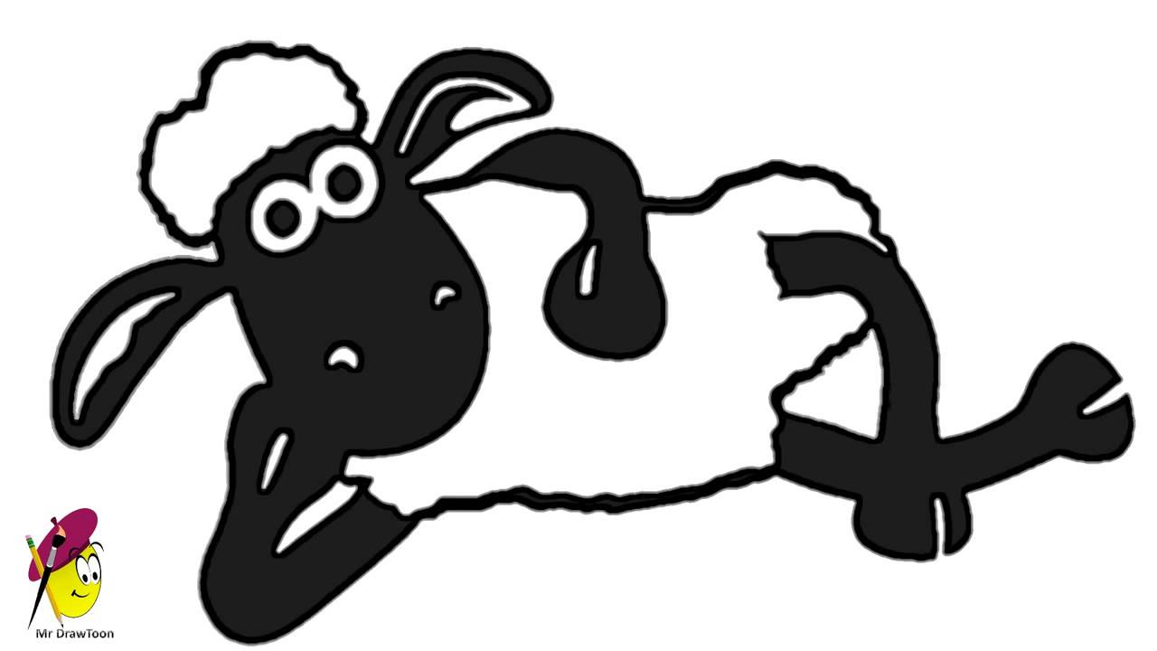 Drawn sheep shaun the sheep How how how Sheep Shaun