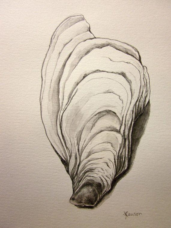 Drawn shell artist Best ideas drawings a water