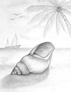 Drawn scenery creative Seashell 25+ Together The