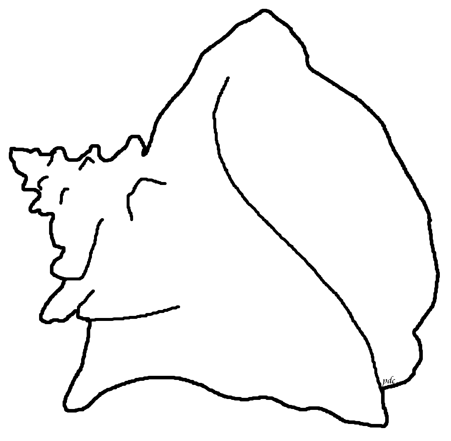 Drawn shell queen conch Or Page how or draw