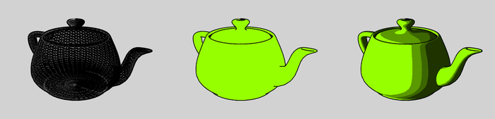 Drawn shell shaded Wikipedia The shading using cel