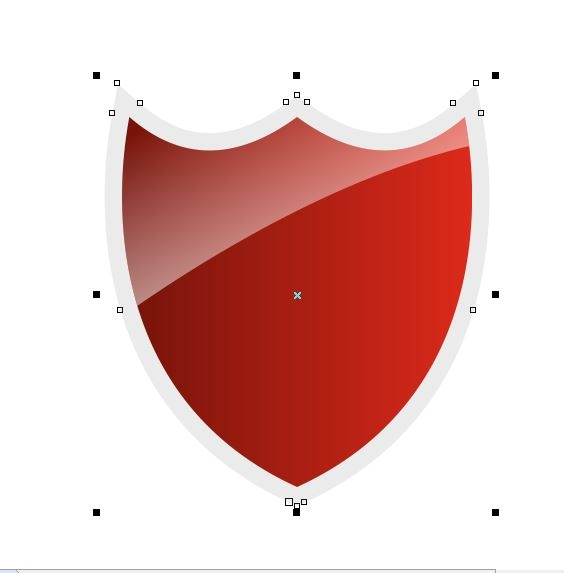 Drawn shield banner Used this the icon