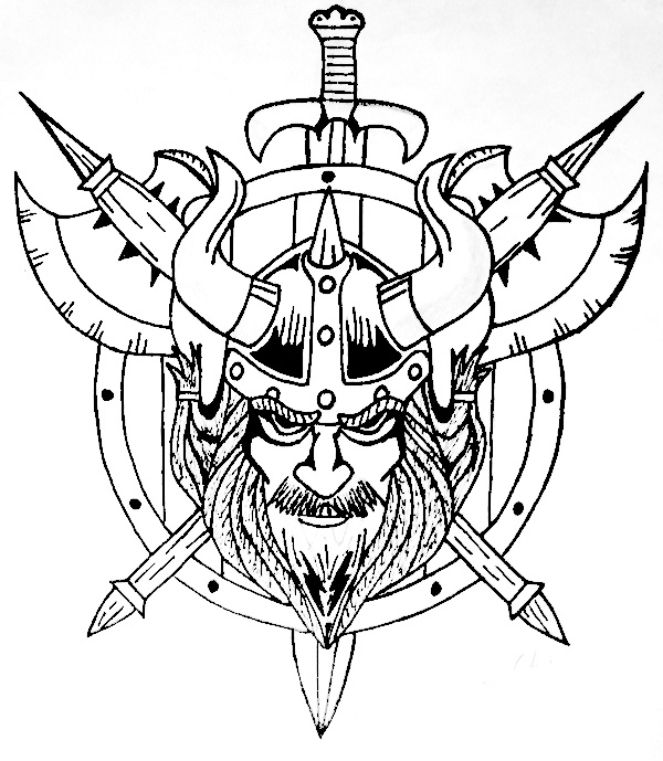 Drawn shield black and white Tattoos Pinterest ideas and more