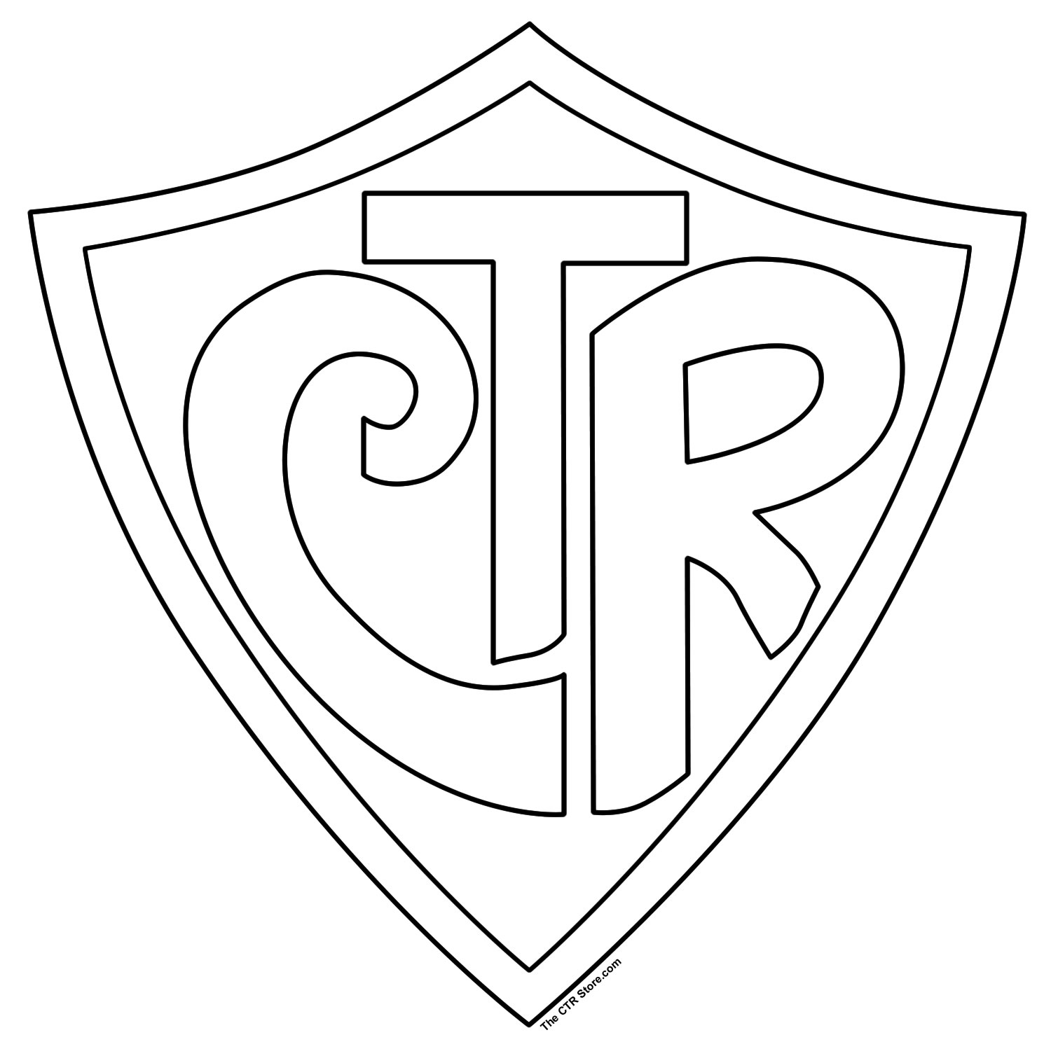Drawn shield ctr And } Ctr shield man