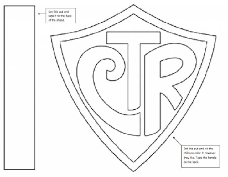 Drawn shield ctr Page Coloring qlyview Ctr Shield
