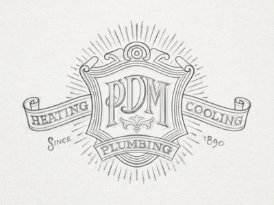 Drawn shield decorative Pumbing Heating (by shield Decorative