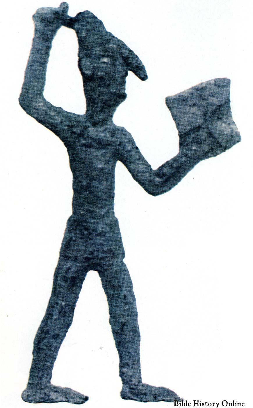 Drawn shield god is Sword Canaanite Drawn God Images