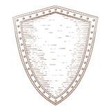 Drawn shield hand drawn Hand  royalty Shield drawn