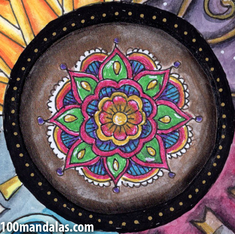 Drawn shield personal Would the mandala 100 symbol