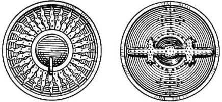 Drawn shield roman Mars Picture *** of Buckler