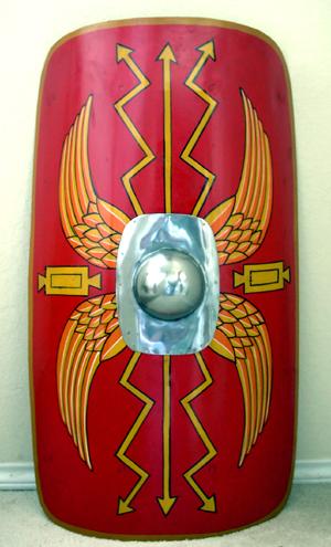 Drawn shield roman  Roman shields
