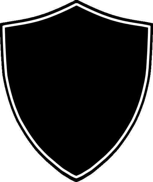 Drawn shield transparent Shield%20clipart%20black%20and%20white Panda Clipart Clipart Black