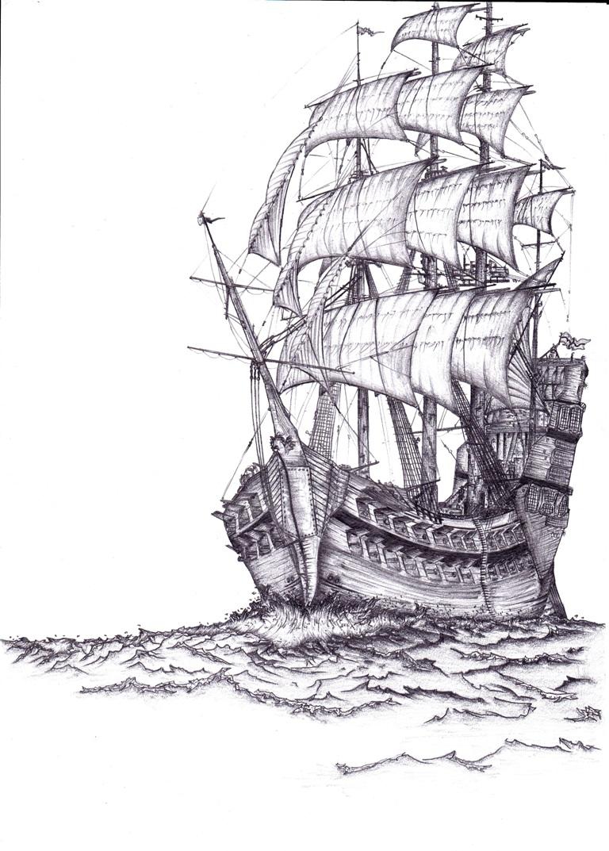 Drawn ship My Drawn My Drawn DemonKing1997