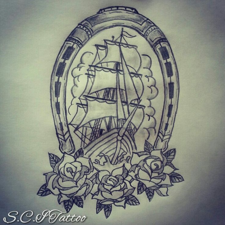 Drawn ship american traditional Ship Google Search tattoo american