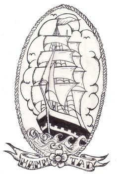 Drawn ship american traditional Com on 2 deviantart green2106