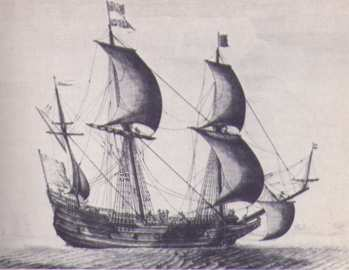 Drawn ship dutch In the century The and