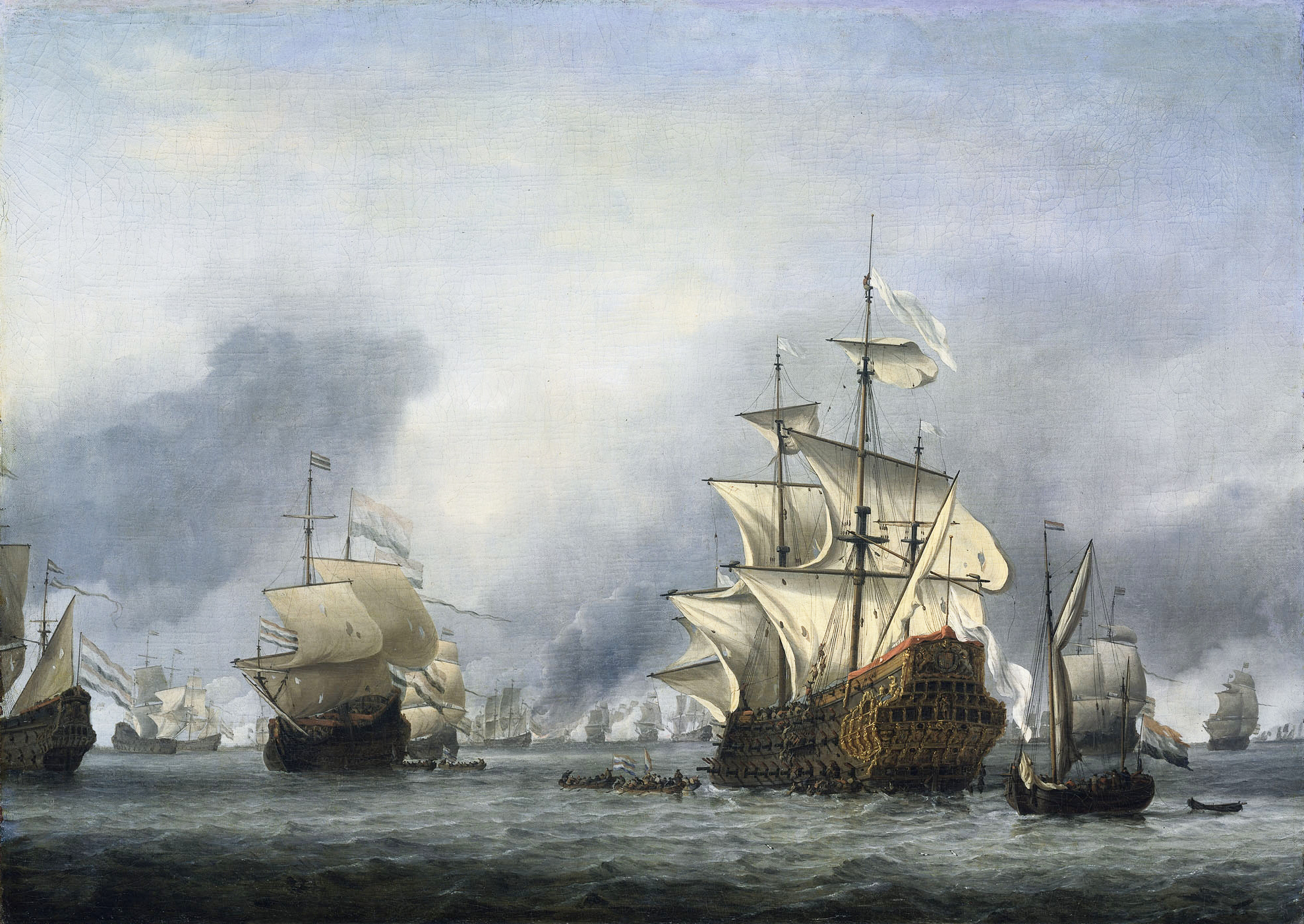 Drawn ship dutch (1664–67) » of Dutch the