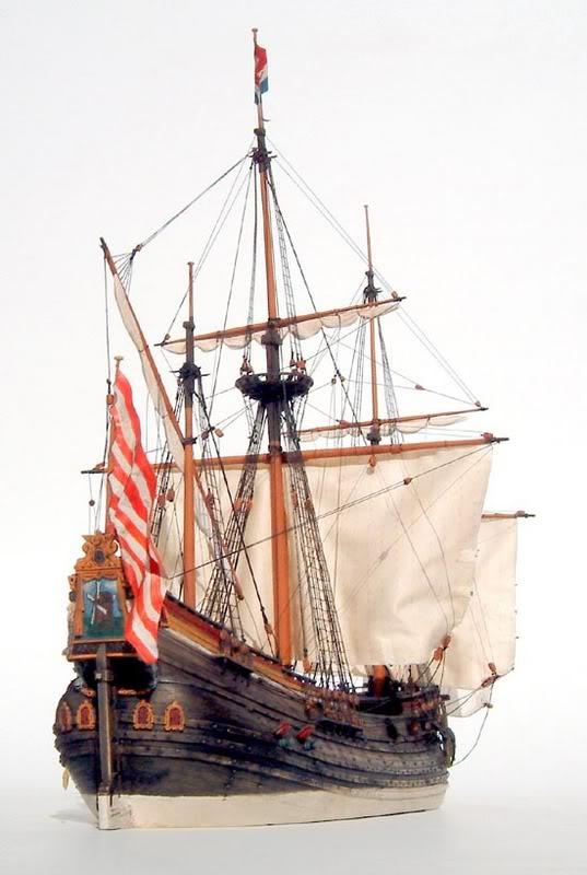 Drawn ship fluit Game class jpg Dutch