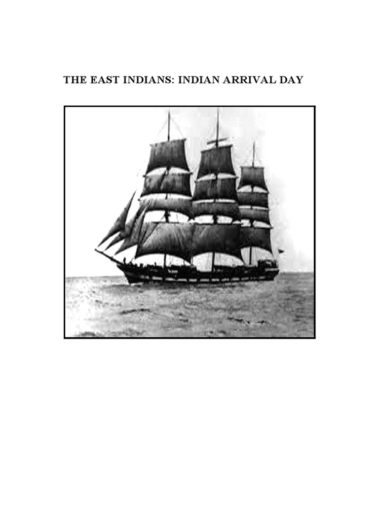 Drawn ship indian arrival day 2016  Foods PROJECT pdf