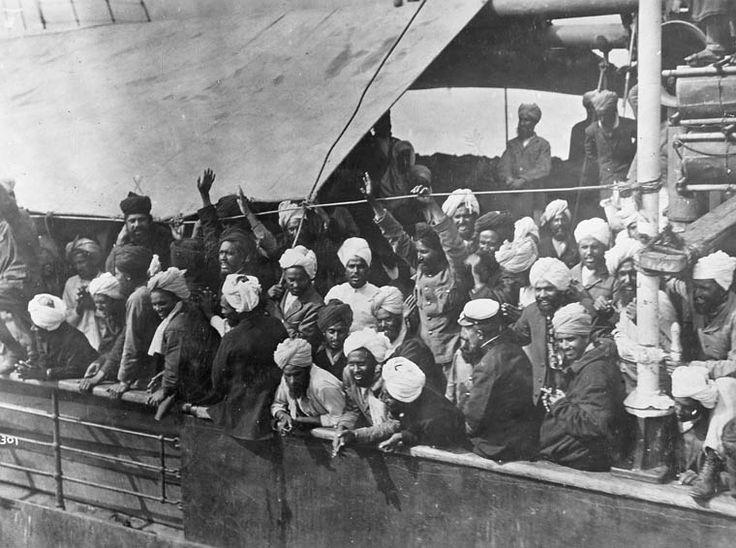 Drawn ship indian arrival day Komagata Indian Vancouver English Bay