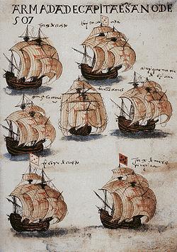 Drawn ship indian arrival day Ships[edit] Armadas Portuguese India Wikipedia