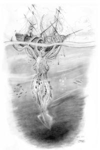 Drawn ship kraken Ship And Ship Kraken resolution