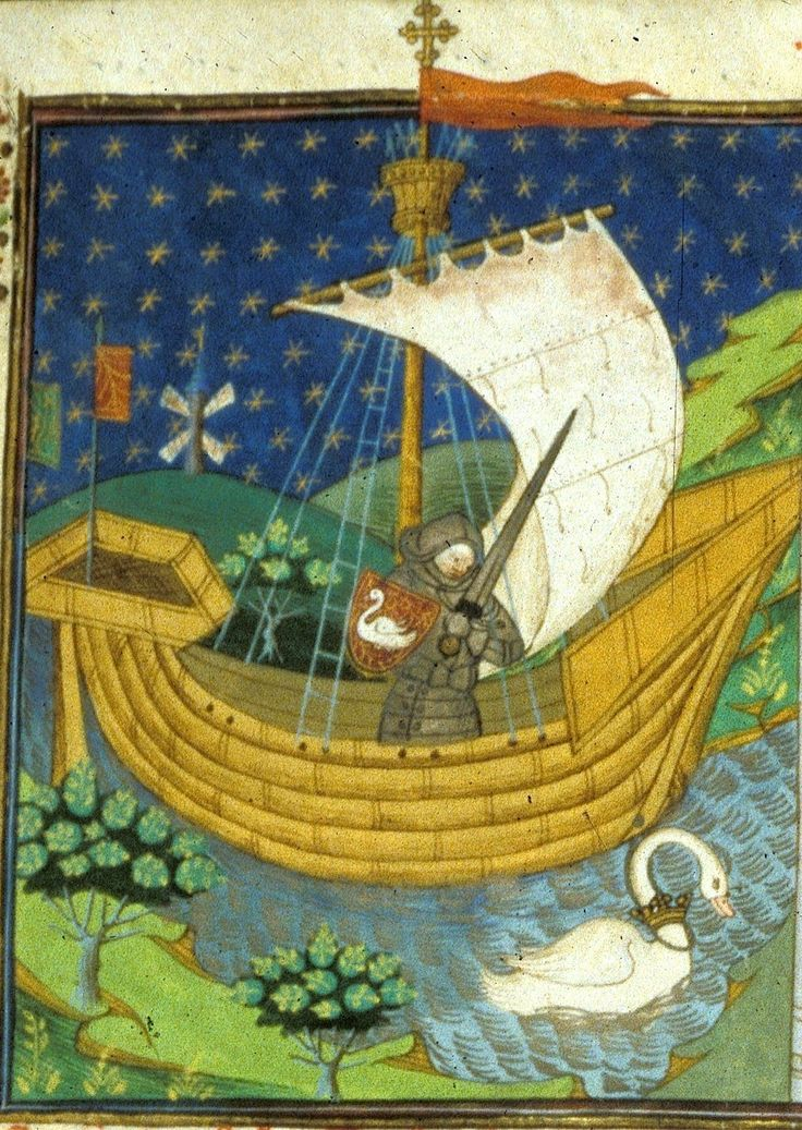 Drawn ship medieval ship Images (f°273) on a A