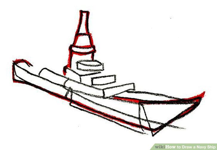 Drawn ship navy ship Navy living Artprise the Draw