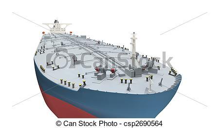 Boat clipart tanker Tanker csp2690564 on over Oil