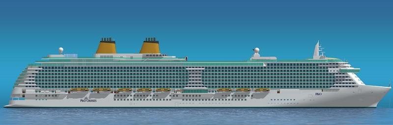 Drawn ship passenger ship Ship ship 2015 Cruises P&O