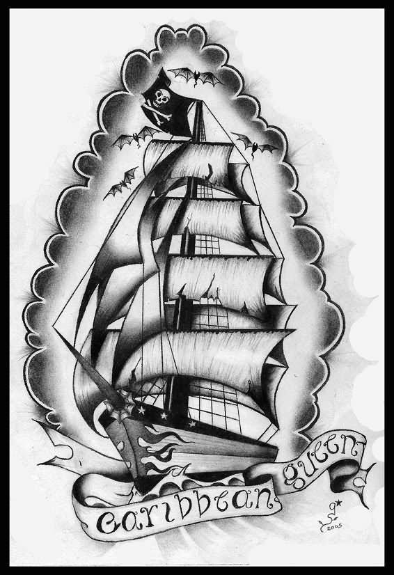 Drawn ship sailor ship 29+ Tattoos Tattoo Designs Sailor
