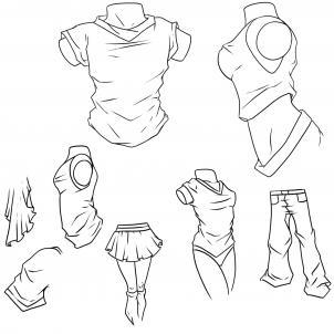 Drawn shirt anime To How anime step Anime