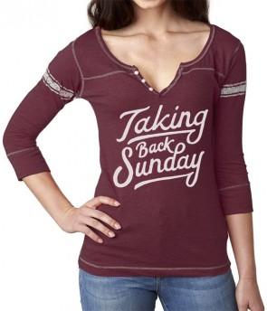 Drawn shirt back 3/4 Sunday: Sunday Back Hand