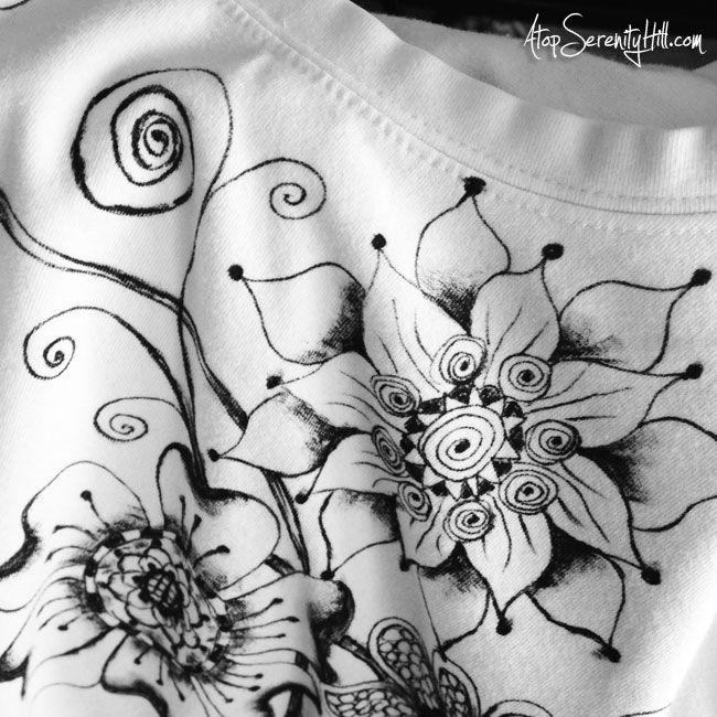 Drawn shirt fabric marker Pinterest The paint t marker