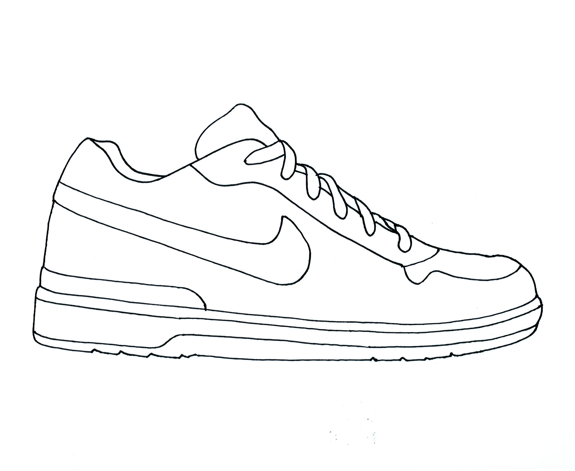 Drawn shoe #1