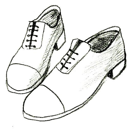 Drawn shoe To Image Step Shoes 6
