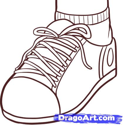 Drawn shoe To how Pop Step shoe