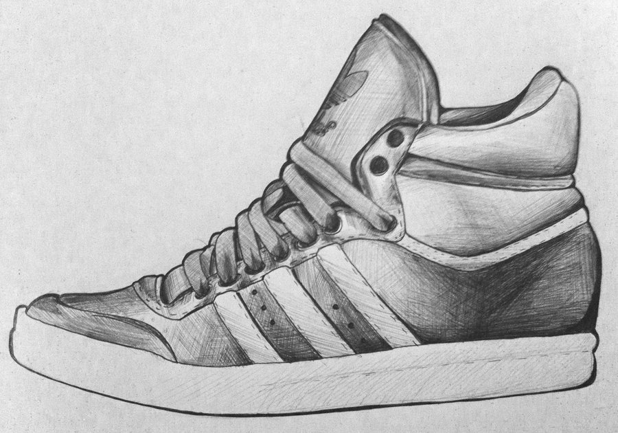 Drawn shoe adidas shoe Drawing adidas drawing adidas shoes