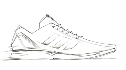 Drawn shoe adidas shoe Sketches sketch and Shoe Zx