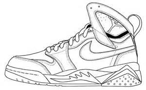 Drawn shoe air jordan shoe Shoe Jordans Shoes Shoes Coloring