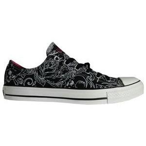 Drawn shoe all star All Skulls Black Drawn Chuck