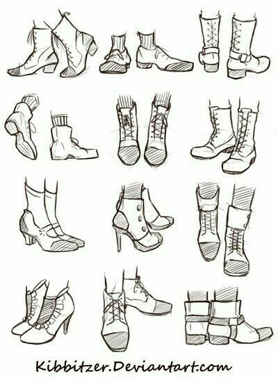 Drawn boots anime guy To Manga/Anime Draw Shoes text;