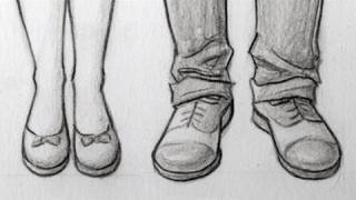Shoes Draw 4 Ways to