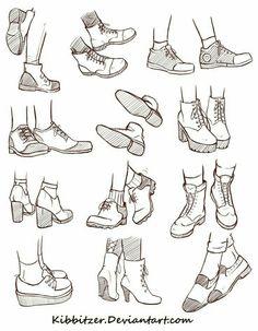Drawn shoe anime boy Hair to Manga/Anime Draw