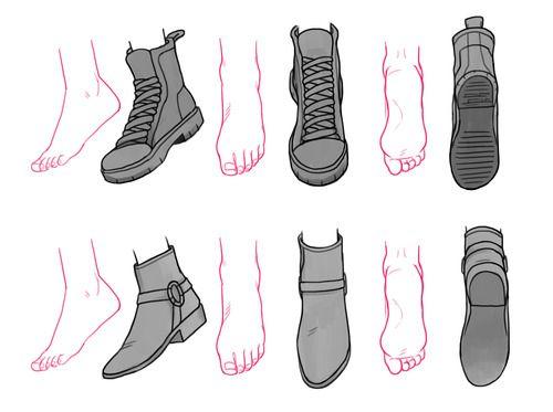 Drawn shoe anime boy Ideas Best Pesquisa 3d clothes