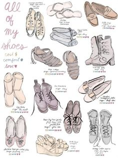 Drawn shoe anime boy Inspiration to Poster Shoes skirts