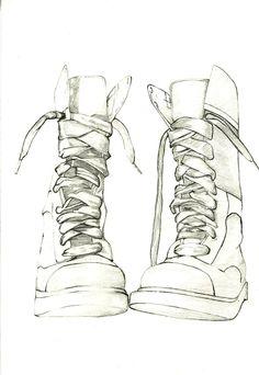Drawn shoe anime boy DrawingShoe draw I think anime