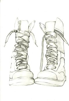 Drawn boots female  Foto How Draw Shoes